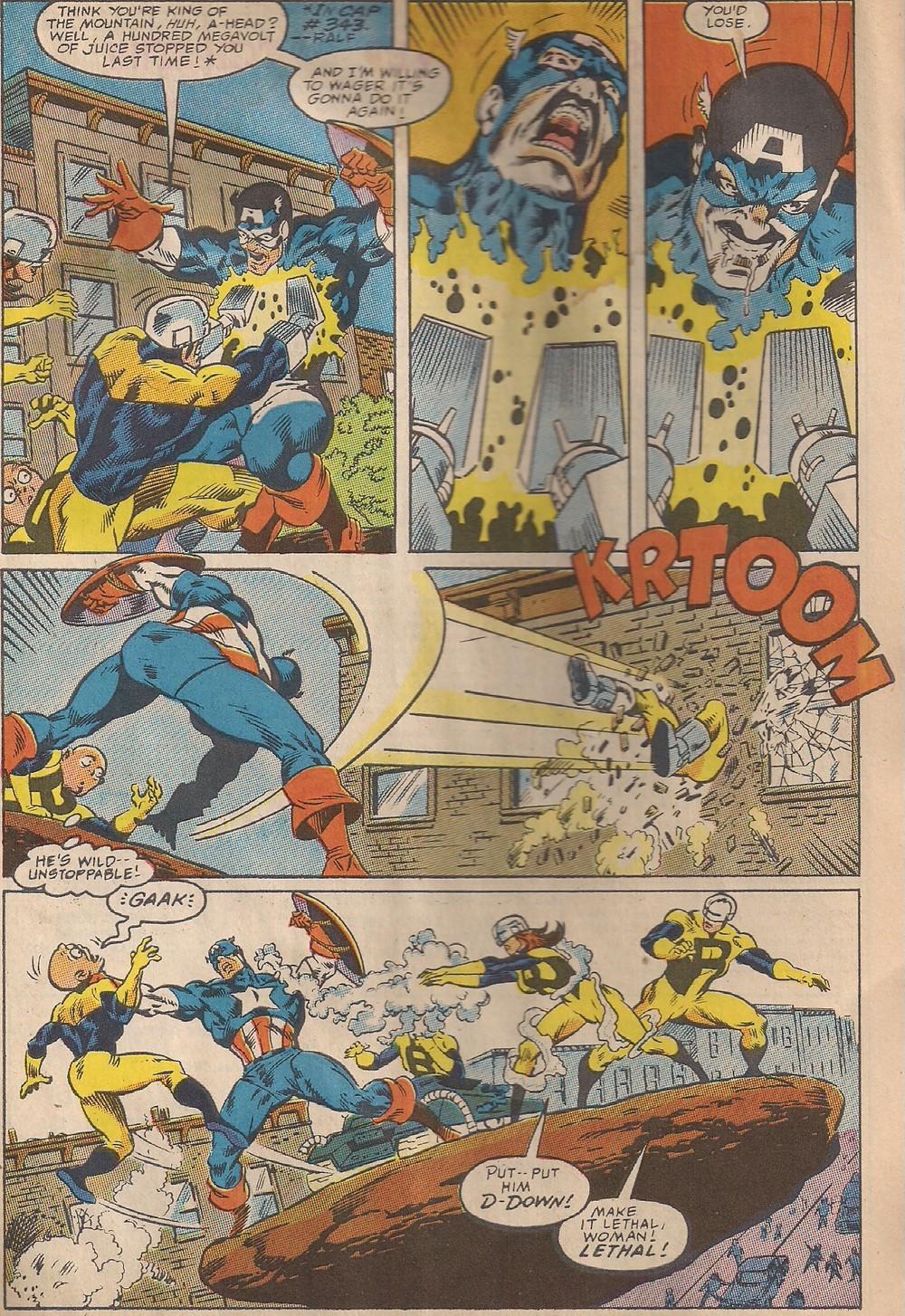 """""""Cap Smash!"""""""