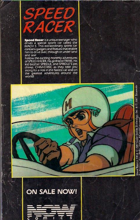 Go, Speed Racer Go!