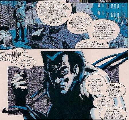 Eddie Brock has 3 personalities, Eddie, Venom and his mullet!
