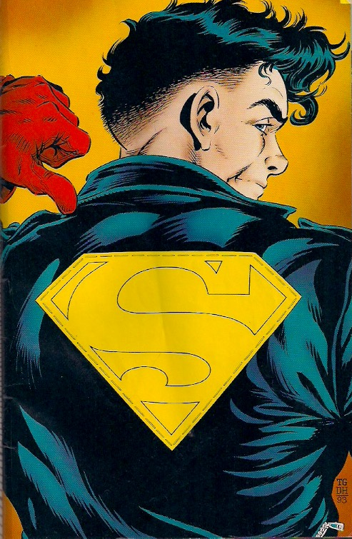 For all the crap this Superman gets about that haircut, I think it's actually in style now.