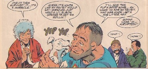 First Superboy, now Krypto.