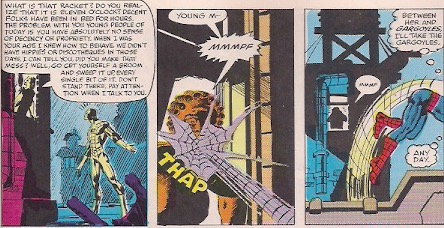 Spider-Man always knew how to handle his adoring public!