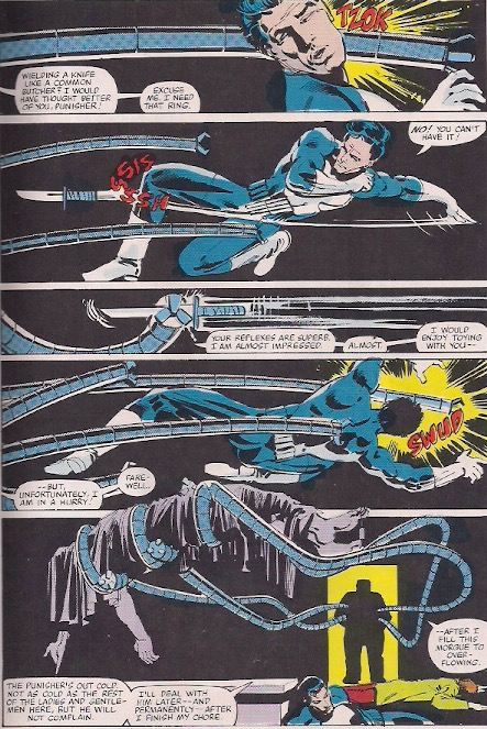 This is one of my favorite panels ever. It would be even better silent, but Doc Ock is known for his verbosity.