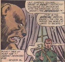 There's something about a man having a conversation with a bear that is everything I love about comics