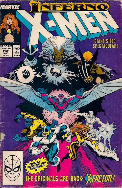 It's classic 80s X-Men!