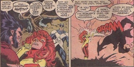 Cyclops, ever the white knight.