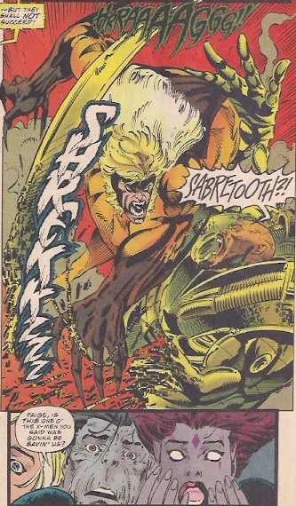 Imagine seeing Sabretooth for the first time!
