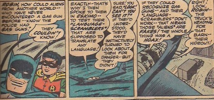 I love how Batman casually speaks Eskimo.