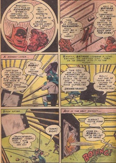 The Wrecker's grand plan was to bake the Batman?