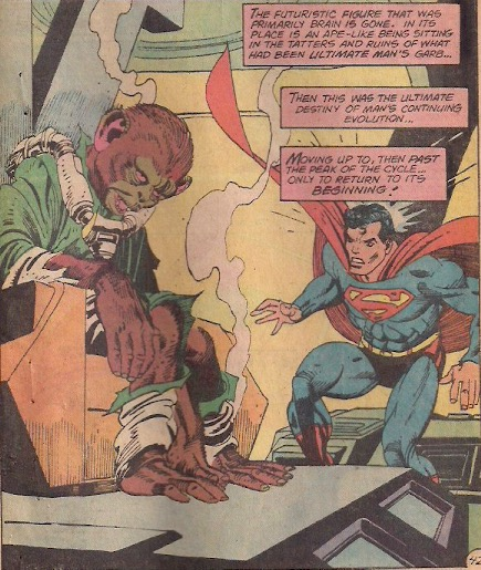 """""""You sure did make a monkey out of him, didn't you Superman?"""""""