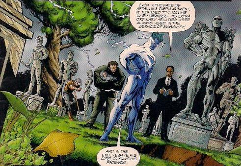 Love the idea of a superhuman cemetery.