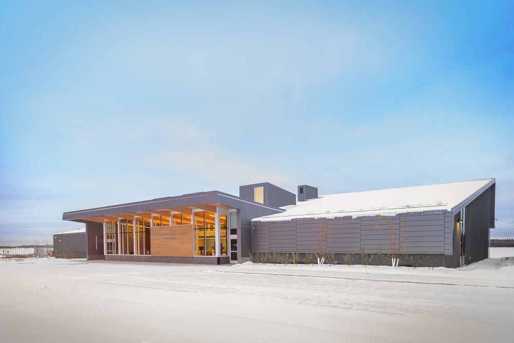 Falls International Airport | International Falls, MN • photographed for Alliiance Architects