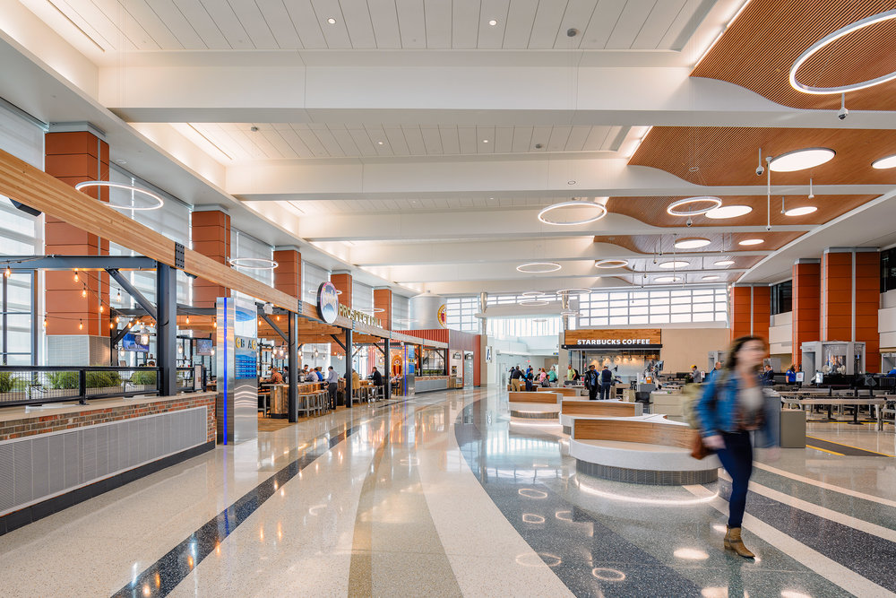 Gerald R. Ford International Airport • shot for Alliiance Architects