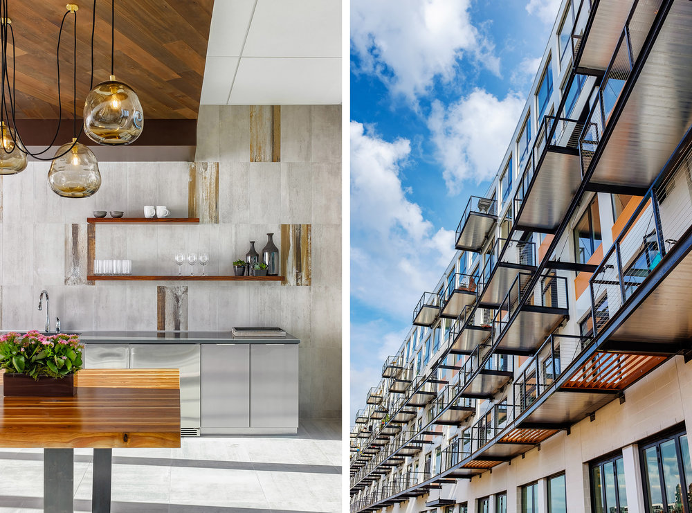 Domus Apartments | Milwaukee, WI • photographed for HGA Architects