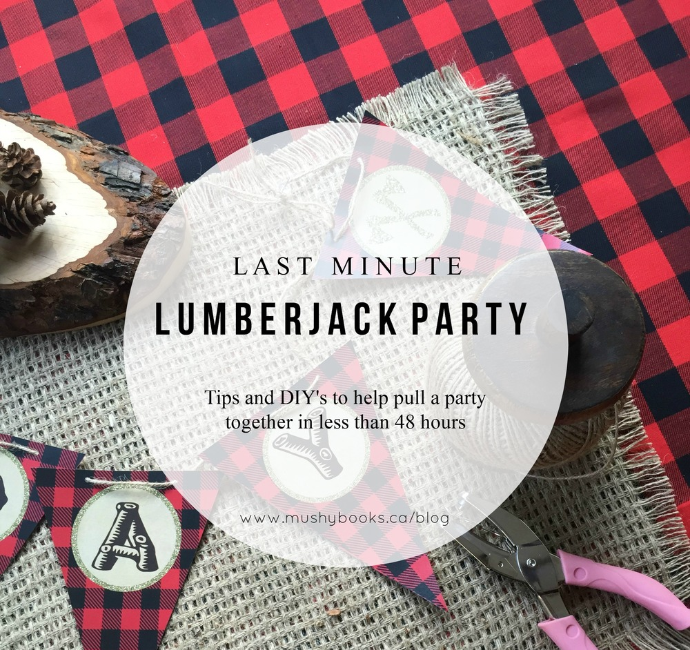 last minute lumberjack party