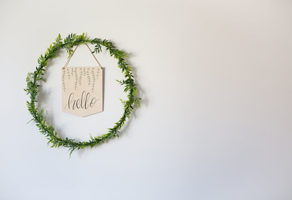 sprig west wall hanging