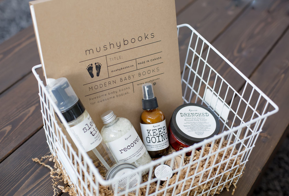 Spoil a new mom with K'pure & Mushybooks