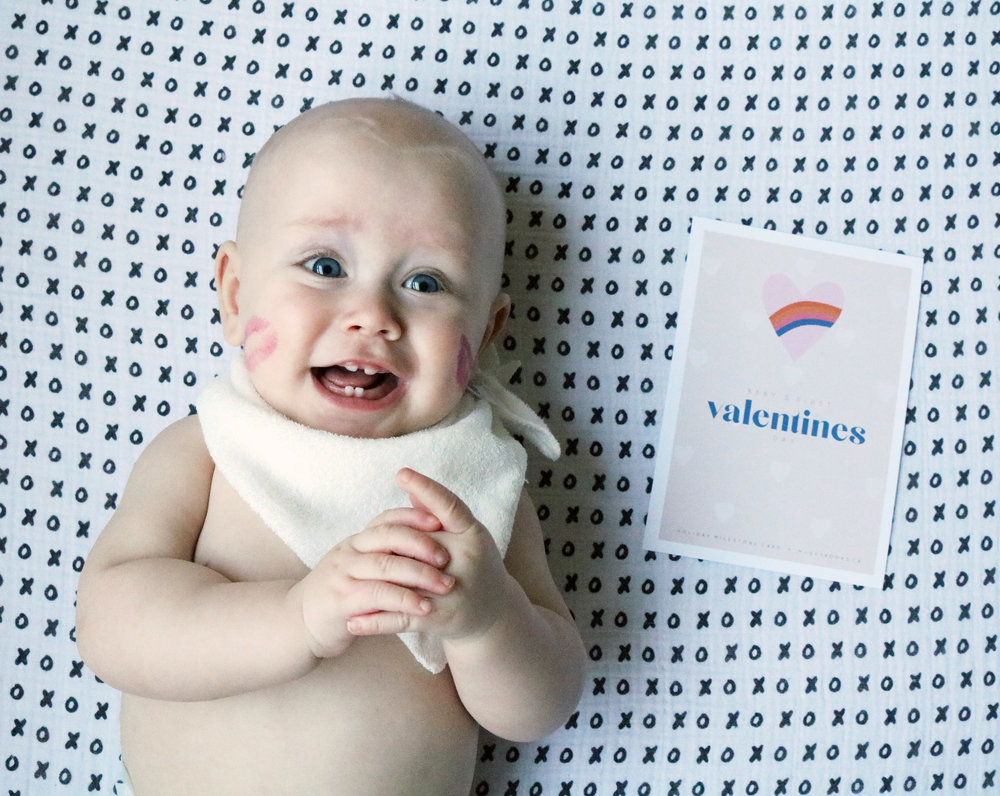 Baby's 1st Valentines Day Free Printable