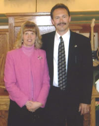 Pastor Jerry Crouch & wife Sandy