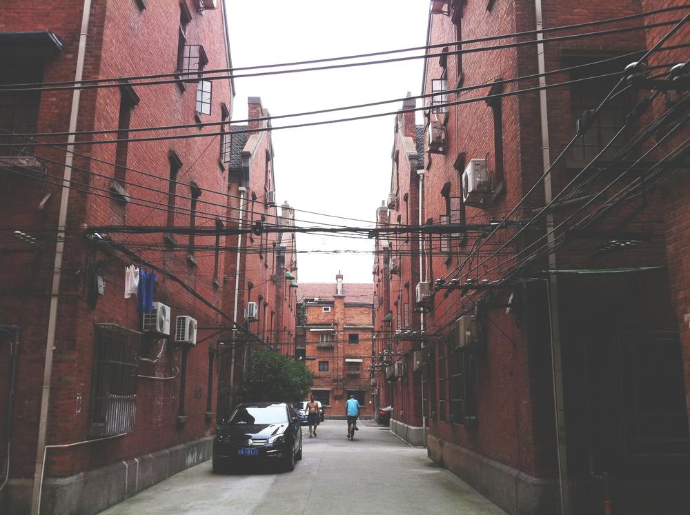 899 Huai Zhong Lu, Courtyard.
