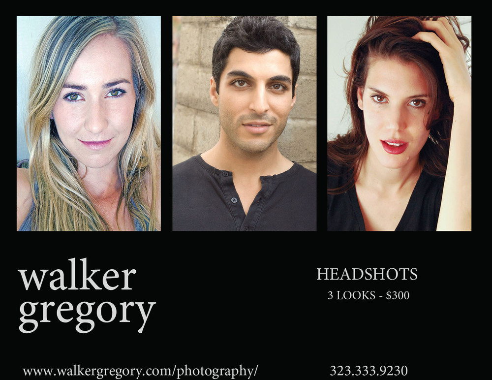 now shooting headshots and portraits for actors, models, musicians, social media and business.