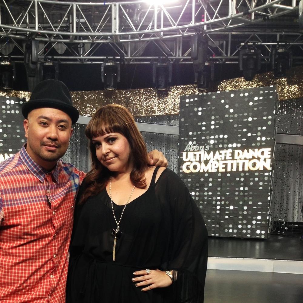 With Tessandra Chavez, Supervising Choreographer, AUDC Season 2