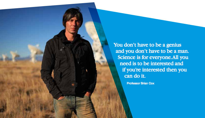 Professor Brian Cox is one of our patrons