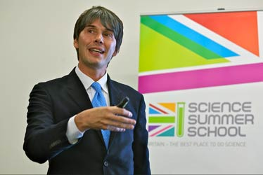 Professor Brian Cox OBE      Hosting the 2014 Science Summer School at SPWT