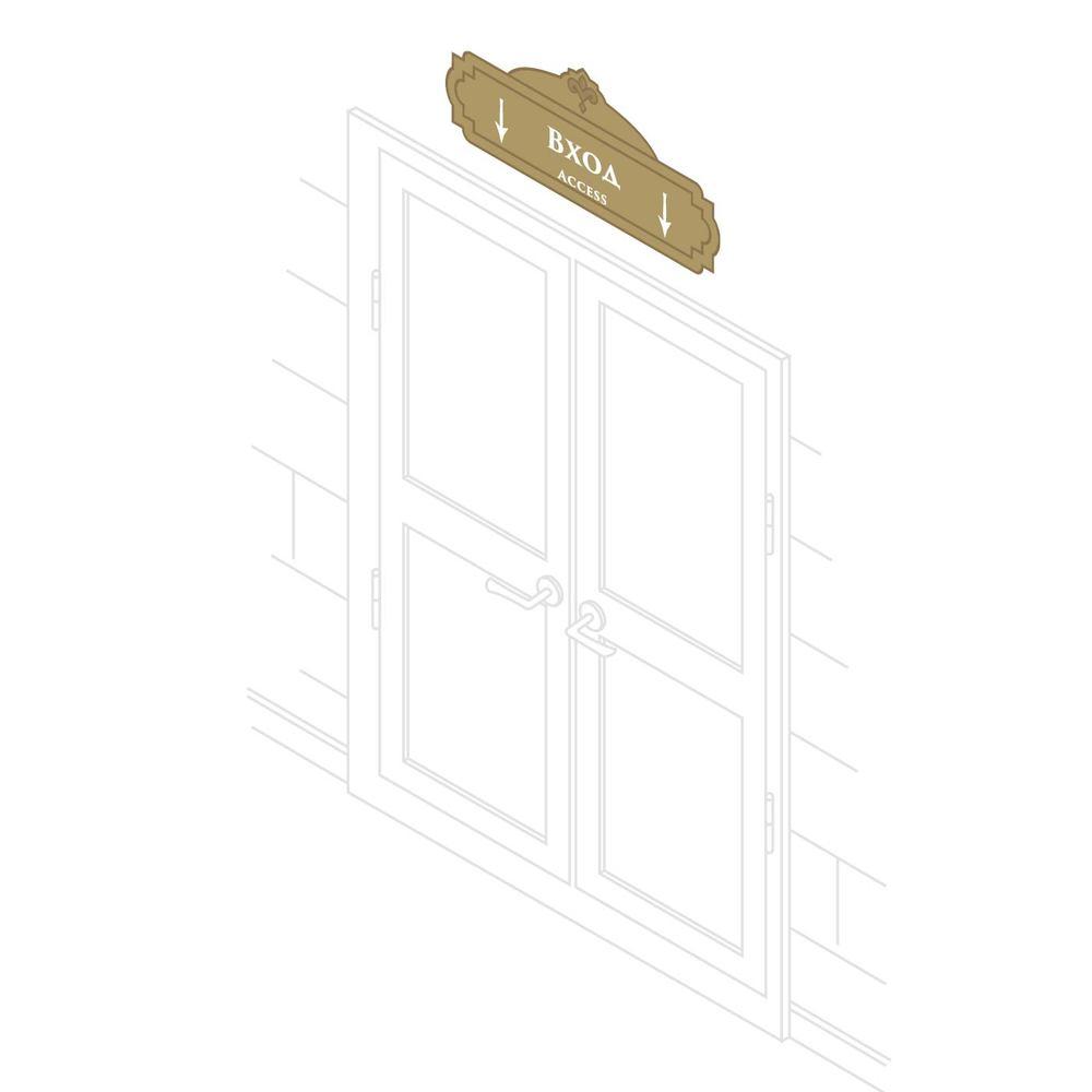 Таблички над дверьми