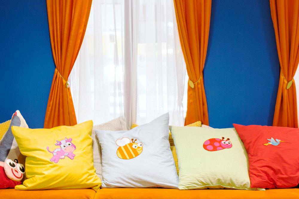 Подушки с персонажами Фруто-няни