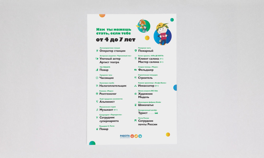 Информационные плакаты