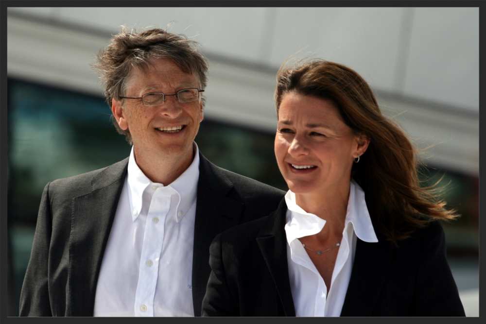 Bill og Melinda Gates