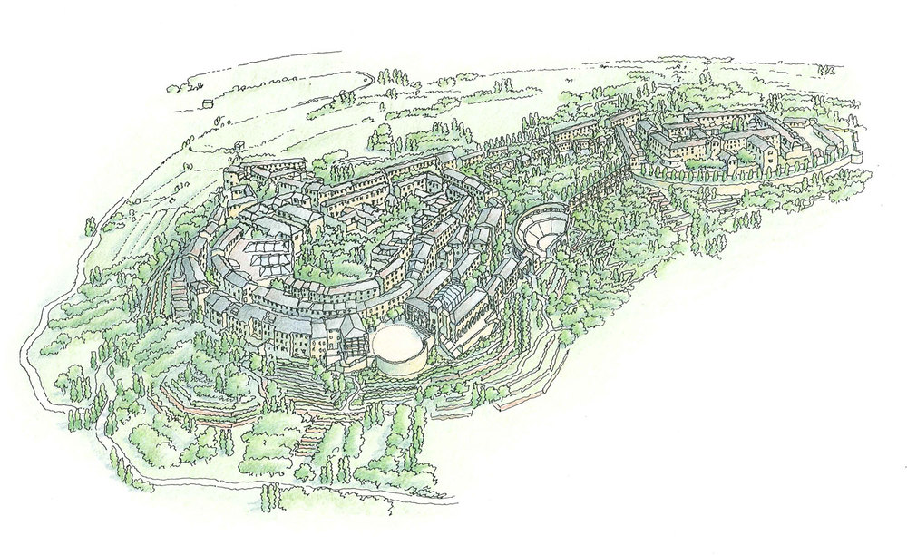 NANSHA HILL VILLAGE – Learning from traditional building and planning in South China to create a sustainable and walkable townscape.