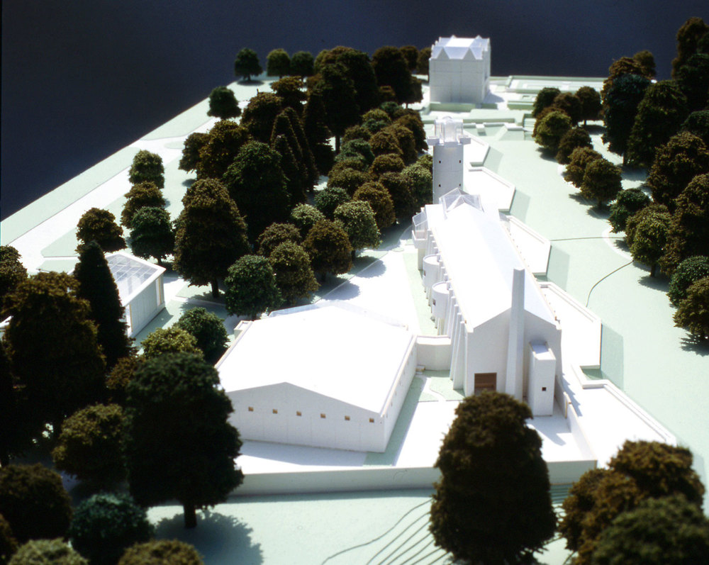 KEW GARDENS, LONDON - The integration of buildings and landscapes to define space.