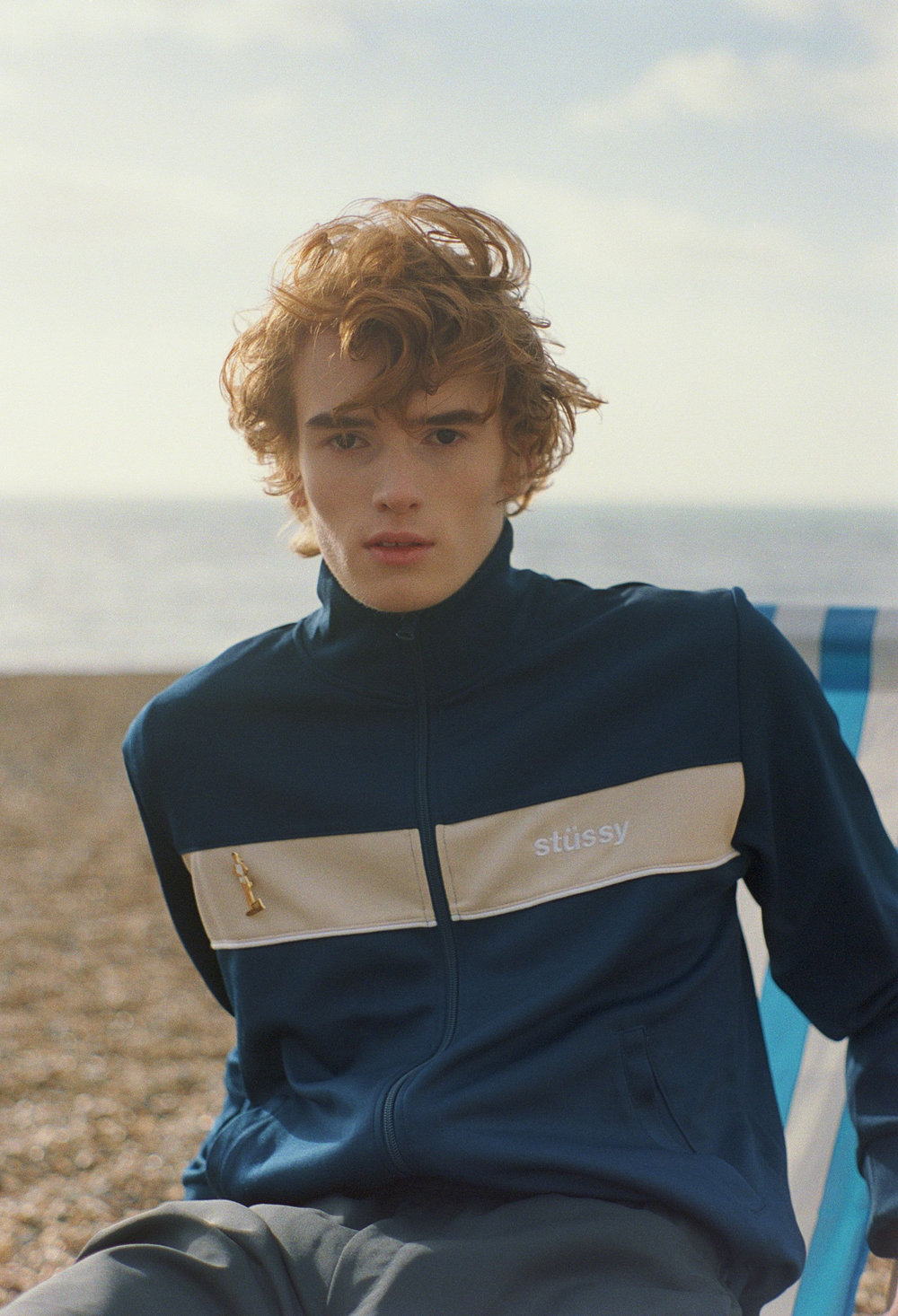 the ones 2 watch - Why see the world, when you got the beach     Art Direction / Styling / Casting    Cristina Chirila   Hair & Makeup    Sarah McIlwain-Bates  using MAC Cosmetics and Unite Haircare   Model(s)  Fyodor Houtheusen @  FIRST model management (London)