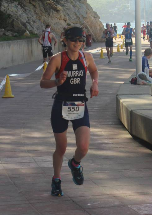 Helen Murray at Challenge Paguera