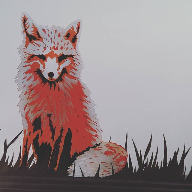 Little Fox commission for a boys bedroom.
