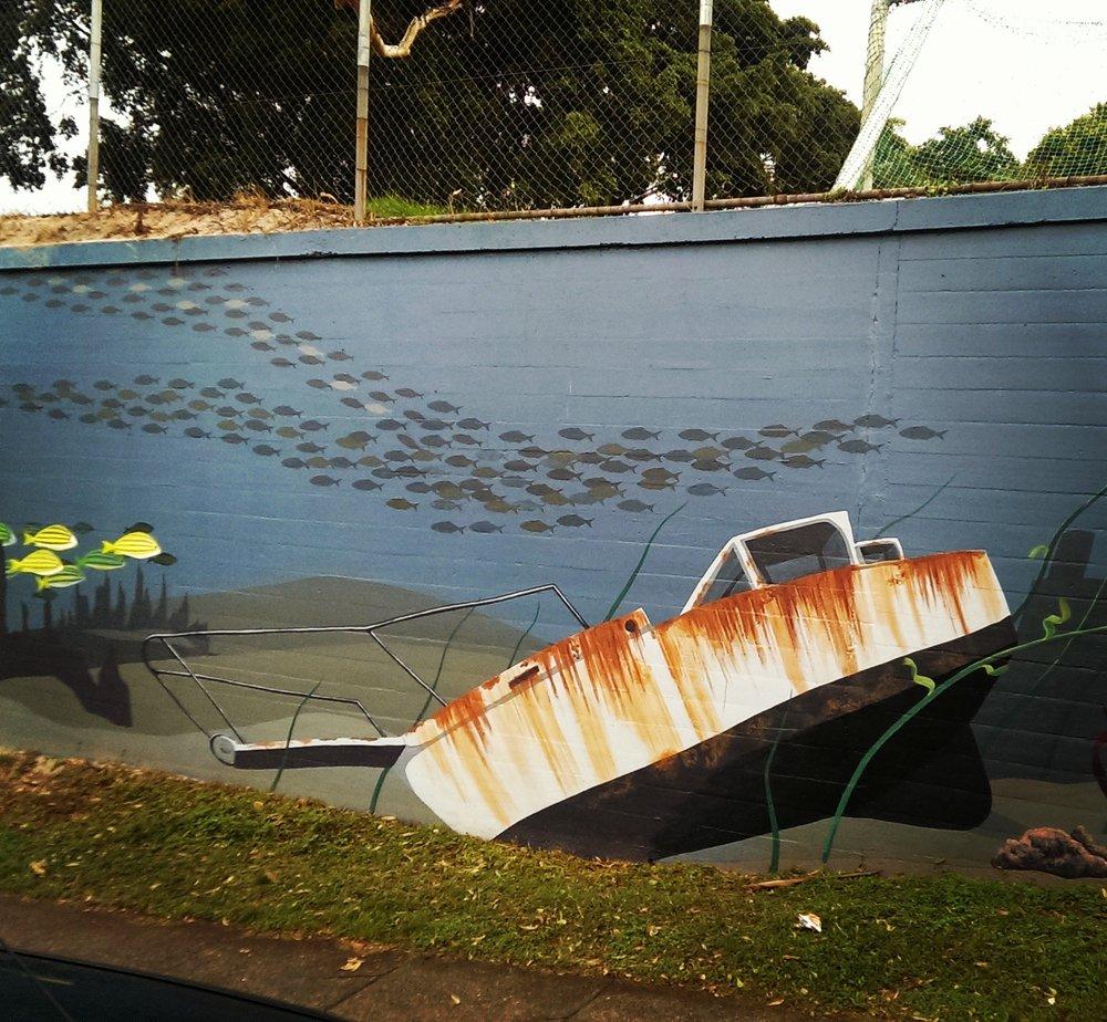 Petrie Terrace State School Mural
