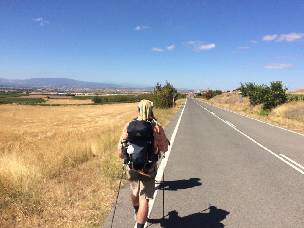 On-road trekking