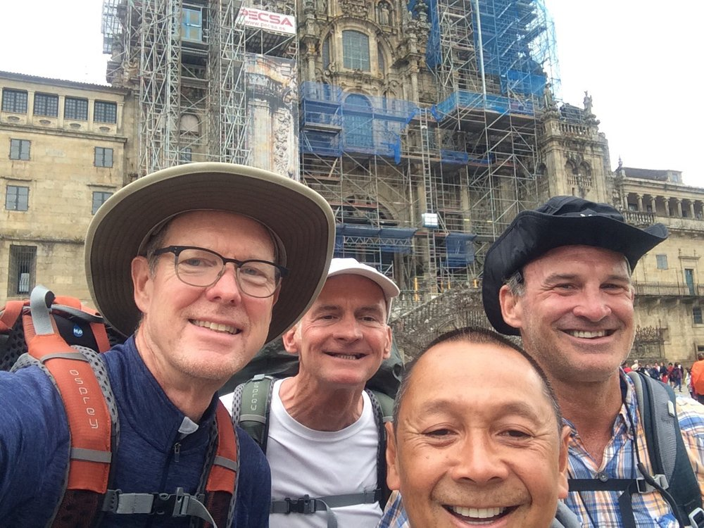 Team selfie on the St. James Cathedral Square. Thanks Jack Smith, Mark Gietzen and Father LocTrinh!