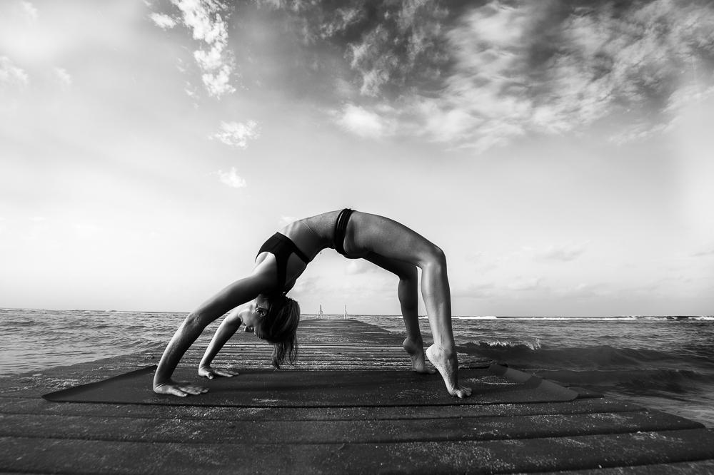 Wheel pose # yoga