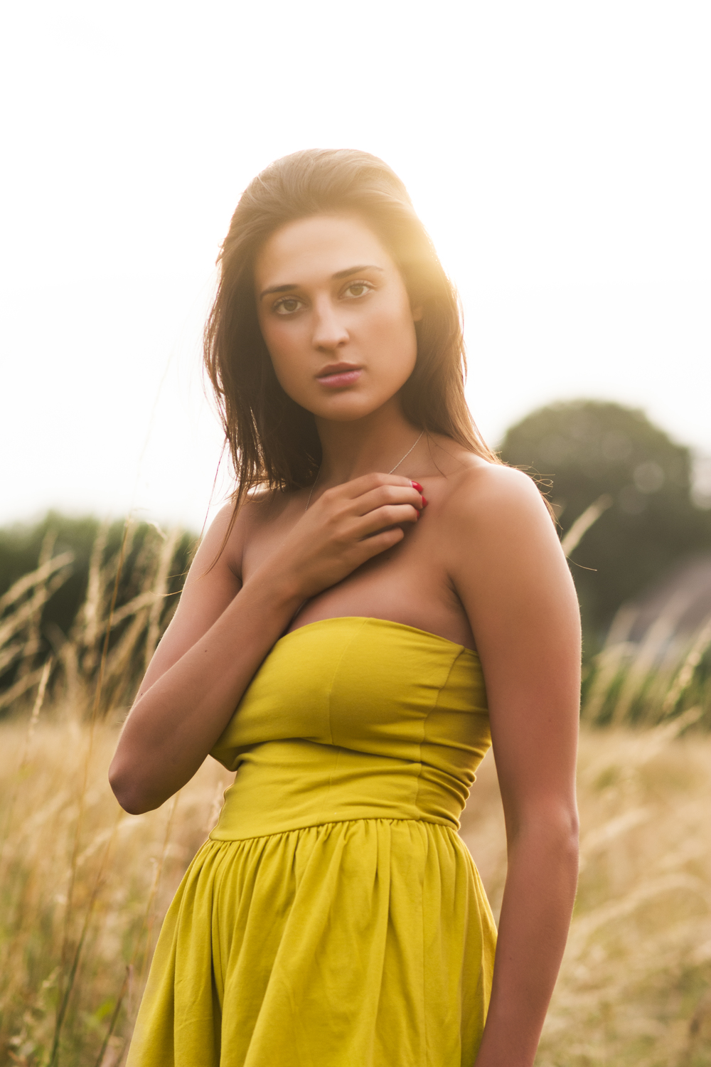 Sunlit meadows  #fashion photography