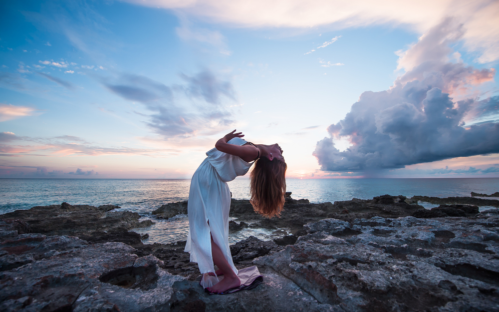Yoga and lifestyle photography