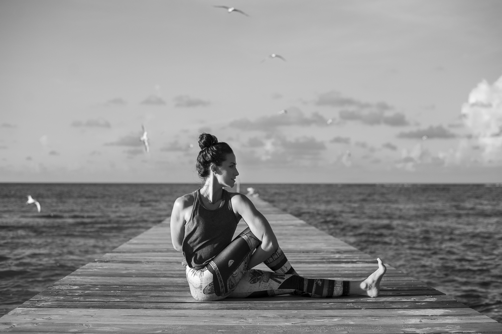 Awesome yoga photography Cayman