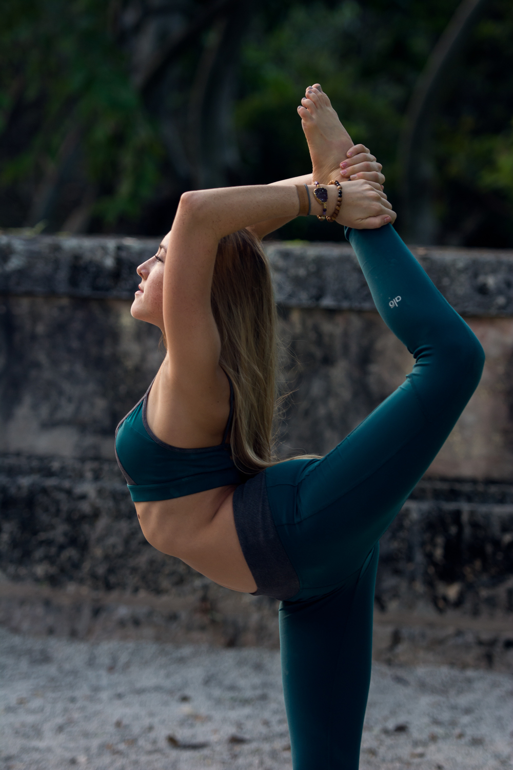 Yoga, lifestyle and portrait photographer Cayman - image shot at Vizcaya Miami