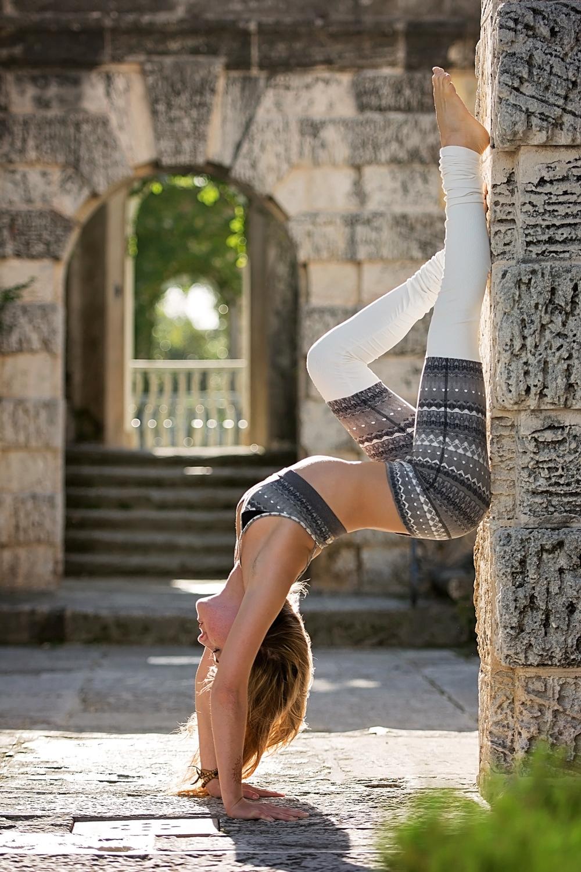 Yoga Photography Tips Photo Retouching Sample