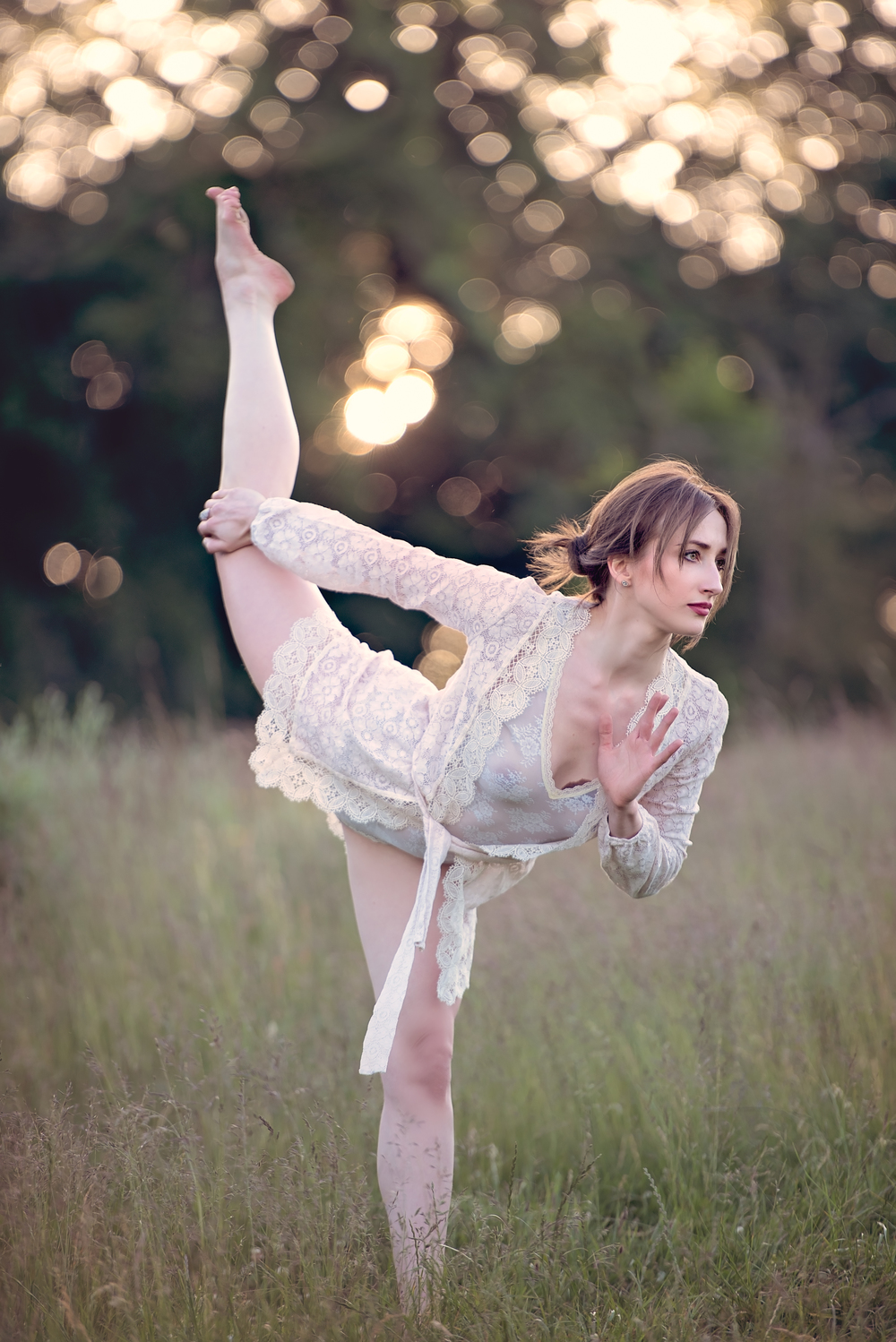 London and California yoga photography | dancer pose