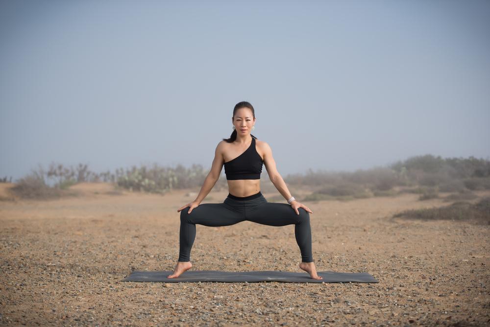 California yoga photographer | Malibu hills