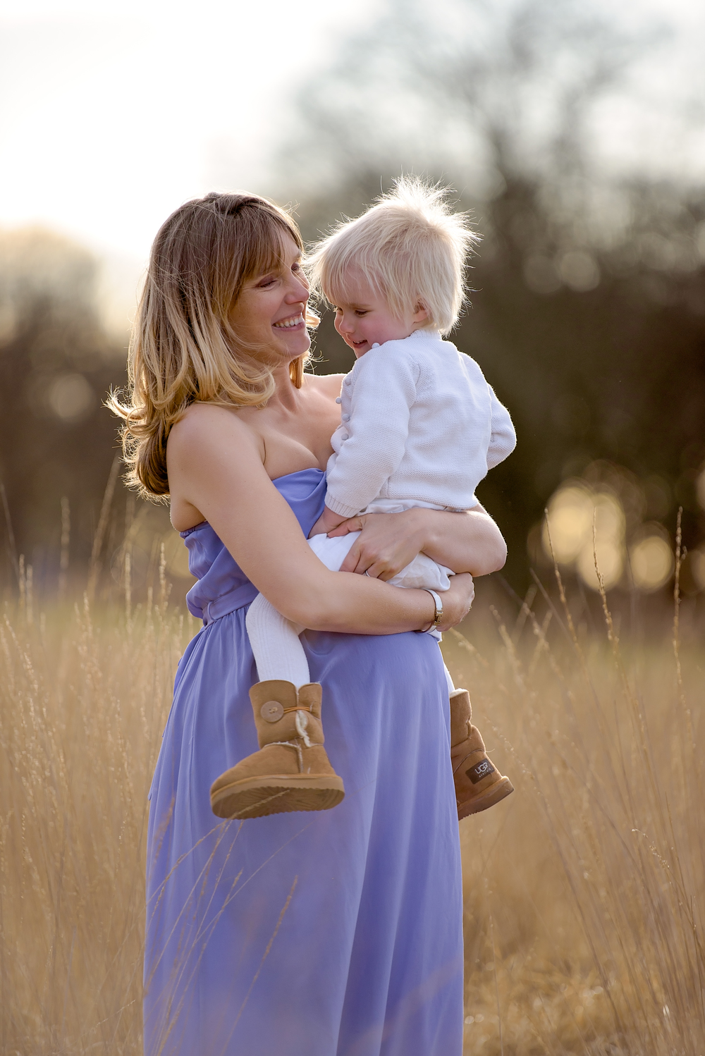 Mother daughter family photoshoot in SW London