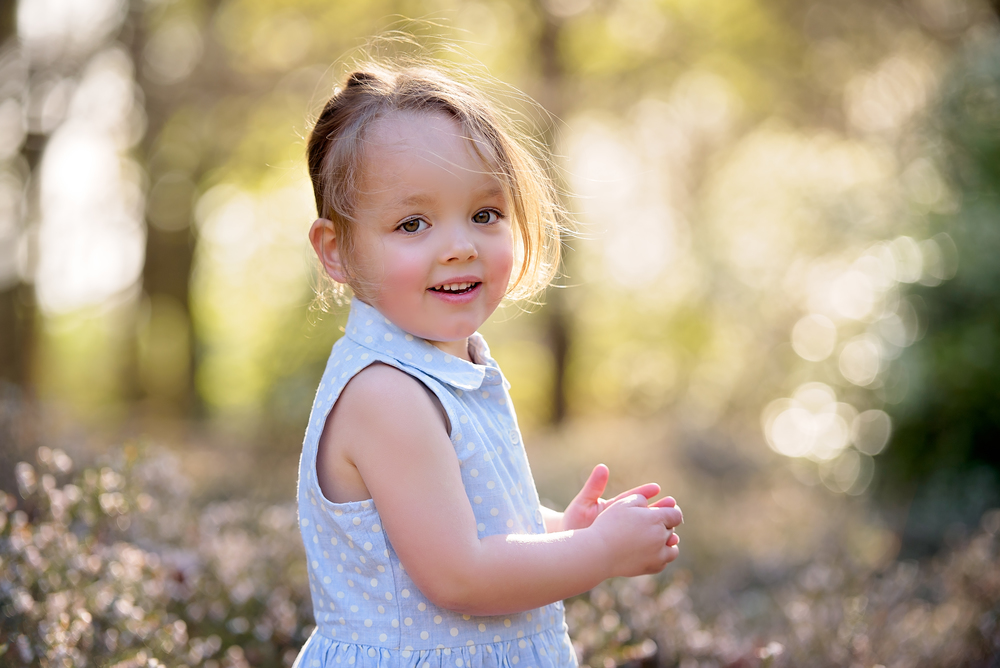 Children's portrait photographer in Wimbledon